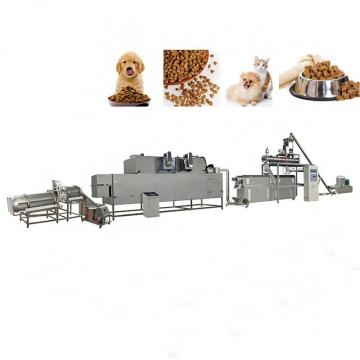 250-800kg\H Screw Pet Dog Food Extruder Processing Machine