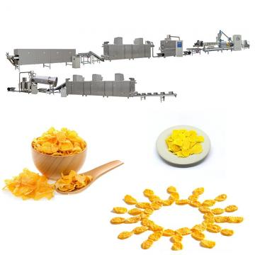 Instant Breakfast Cereal Food Machine Corn Flakes Production Line