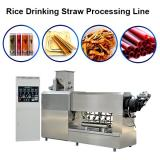 Degradable Straw Extruder Machine Single Screw Edible Drink Rice Straw Production Line